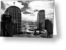 Bangkok Skies Greeting Card