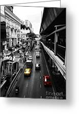 Bangkok Street Greeting Card