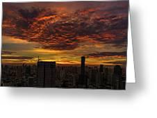 Bangkok Sunrise Greeting Card