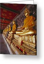 Bangkok, Wat Suthat Greeting Card