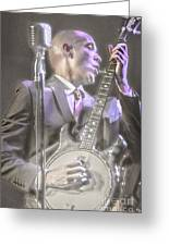 Banjo Jones Greeting Card