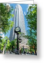 Bank Of America Corporate Center In Charlotte, Nc Greeting Card