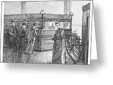 Banking, 19th Century Greeting Card by Granger