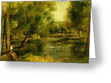 Banks Of The River Greeting Card