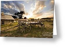 Bannack Montana Ghost Town Greeting Card