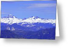 Banner, Ritter And Minarets Greeting Card