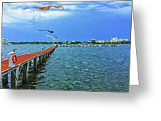 Banners Flying Greeting Card