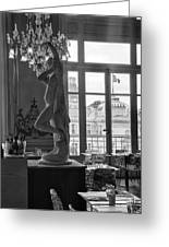 Banquet Room At The Musee D Orsay Greeting Card
