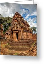 Banteay Srei Mandapa Sanctuary - Cambodia Greeting Card