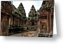 Banteay Srei Temple Greeting Card