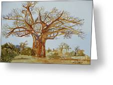 Baobab Tree Of Africa Greeting Card