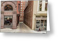 Baptist Alley Greeting Card