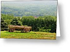 Baraboo Hillside Greeting Card