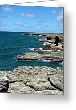 Barbados Coast Greeting Card