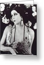 Barbara La Marr Greeting Card