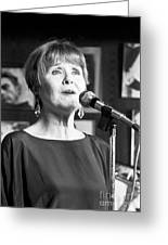 Barbara Lea, Jazz Vocalist Greeting Card