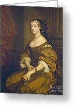 Barbara Villiers, Duchess Of Cleveland Greeting Card