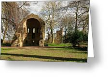 Barbarossa Ruin And Belvedere Greeting Card