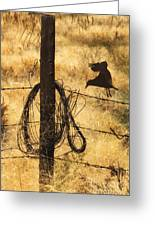 Barbed Landing Greeting Card
