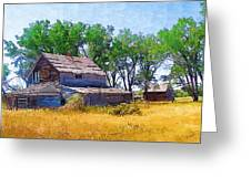 Barber Homestead Greeting Card