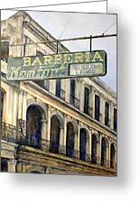 Barberia Konfort Greeting Card