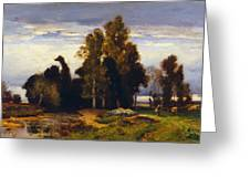Barbizon Landscape Greeting Card