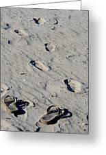 Barefootin Greeting Card