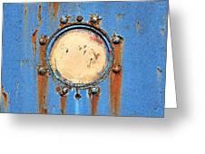 Barge Porthole Greeting Card