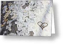 Bark With Heart Greeting Card