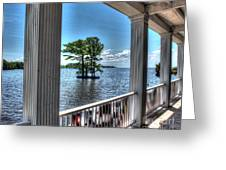 Barker House View Greeting Card