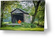 Barkhurst Covered Bridge  Greeting Card