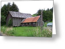 Barn    Washington State Greeting Card