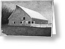 Barn 11 Greeting Card by Joel Lueck