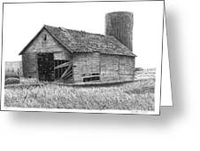 Barn 19 Greeting Card by Joel Lueck