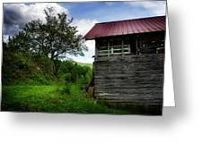 Barn After Rain Greeting Card