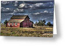 Barn After Storm Greeting Card
