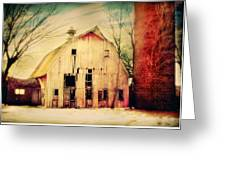 Barn For Sale Greeting Card