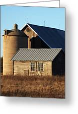 Barn At 57 And Q Greeting Card