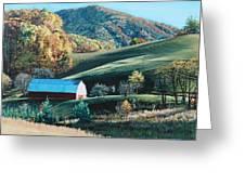 Barn At Blowing Rock Greeting Card