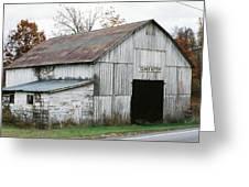 Barn At Clover Bottom Greeting Card
