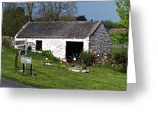 Barn At Fuerty Church Roscommon Ireland Greeting Card