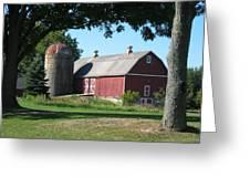 Barn At Leroy Oaks Greeting Card