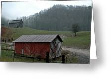 Barn At Stecoah Greeting Card