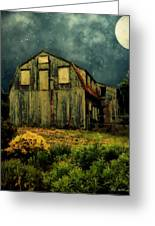 Barn By The Beach Greeting Card