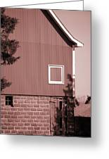 Barn Detail Greeting Card