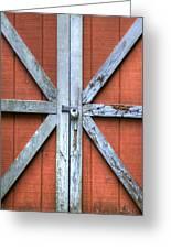 Barn Door 2 Greeting Card by Dustin K Ryan