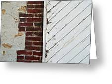 Barn Door Abstract Greeting Card
