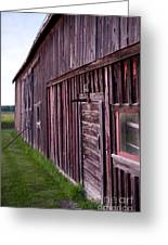 Barn Door Small Greeting Card