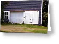 Barn Doors Greeting Card