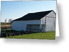 Barn Gettysburg Battle Field Greeting Card